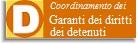 Coordinamento garante diritti detenuti
